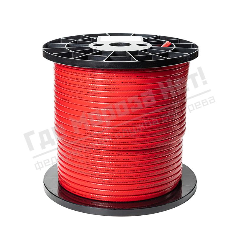Бухта кабель греющий саморегулирующийся Fine Korea SRM40-2CT (в оплетке, 40 Вт/м)