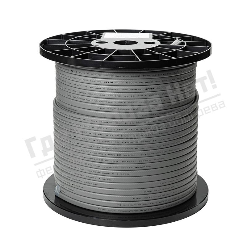 Бухта кабель греющий саморегулирующийся Fine Korea HWSRL30-2CR (в оплетке, 30 Вт/м)