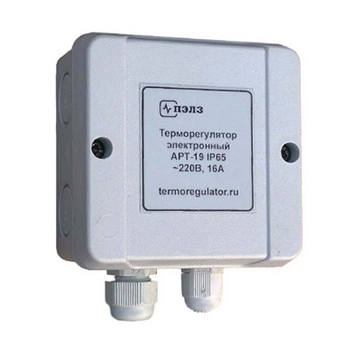 Терморегулятор для систем антиобледенения АРТ-19-IP65 (-5...+5°С), 3 кВт