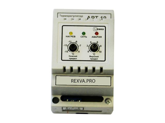 Терморегулятор с аналоговым управлением АРТ-19, 1 кВт