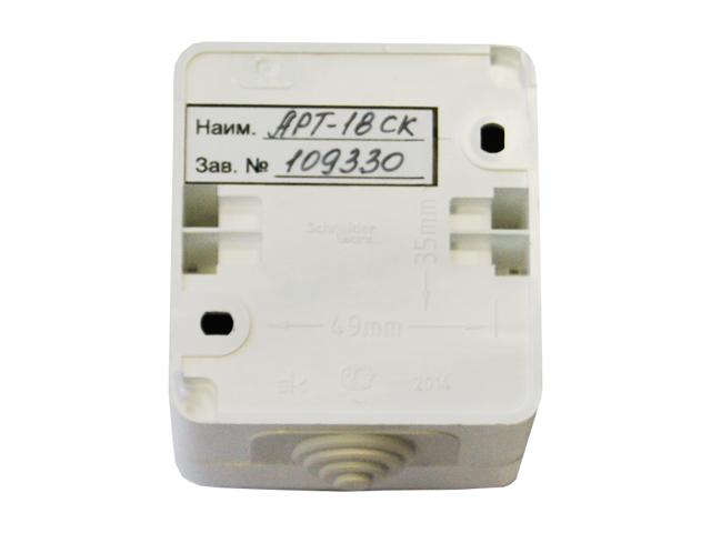 Терморегулятор с аналоговым управлением АРТ-18-SK, 3 кВт